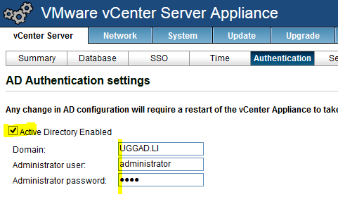 vcenter-active-directory-enable