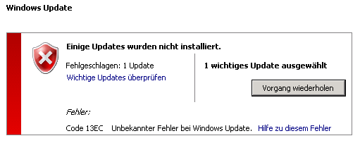 windows-update-fehler 13ec