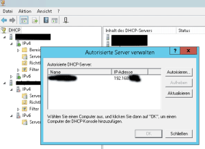 dhcp-server-autorisation-aufheben