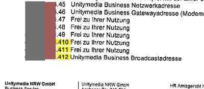 unitymedia-ip-adressen