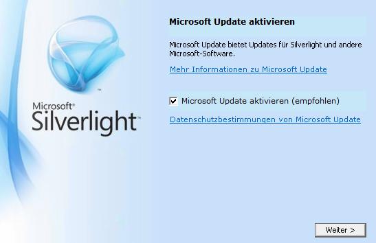 silverlight-update-fehler
