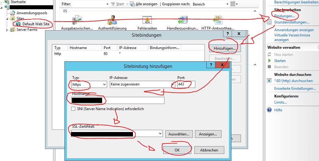 IIS Reverse SSL Proxy unter Windows Server 2012R2/2016 einrichten ...