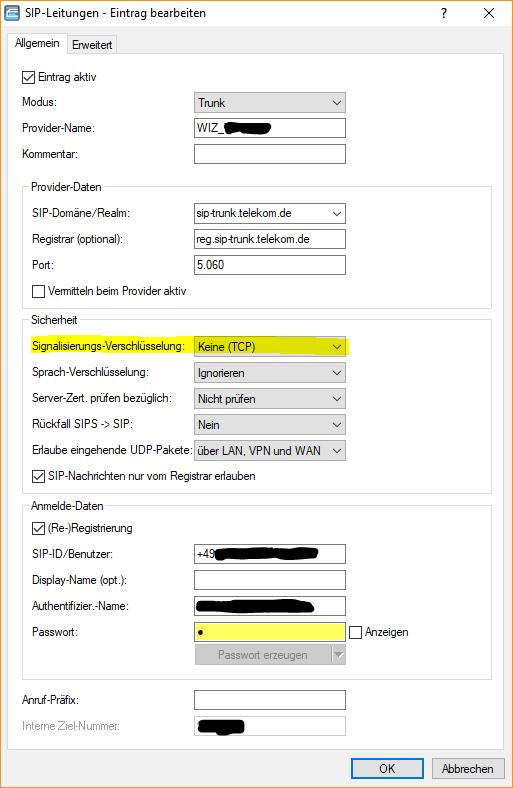 Lancom All Ip Router Registriert Sich Nicht An Telekom Sip Trunk Sip