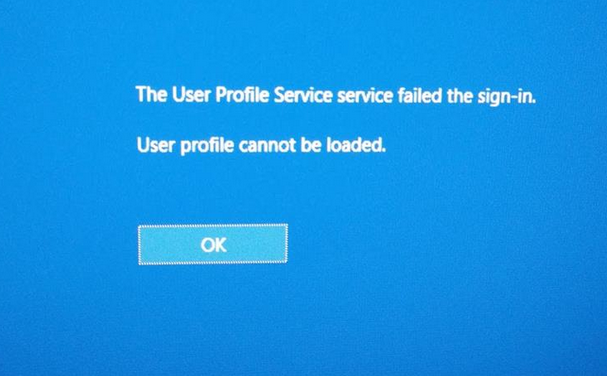 Windows 7 Das Benutzerprofil Kann Nicht Geladen Werden